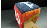 Emotion & Kids Coloured ABC 123 Crochet Cube - RedHill Childrenswear