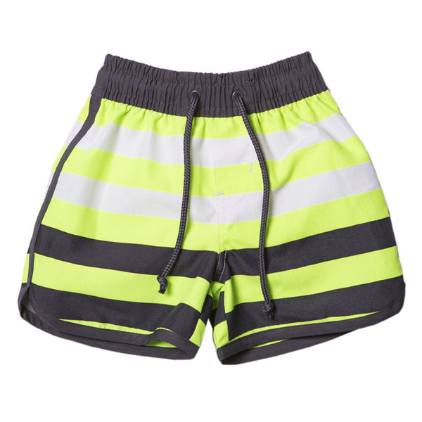 Bebe Zane Striped Boardies - RedHill Childrenswear