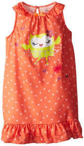 Petit Lem Girls Owl Nightgown - RedHill Childrenswear
