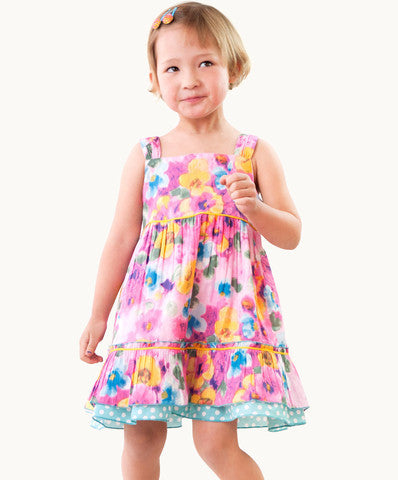Eternal Creation Summer Sweet Floral Time Dress - RedHill Childrenswear
