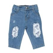Bebe Ebony Lace Patch Jeans/Pants - RedHill Childrenswear