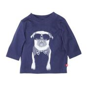 FOX & FINCH Pug with Bow Tie Tee