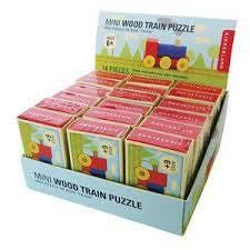 Kikkerland Mini Wood Train Puzzle - RedHill Childrenswear