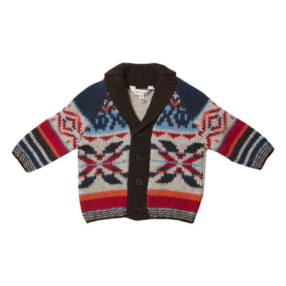 Fox and Finch Stockholm Fair Isle Cardigan - RedHill Childrenswear