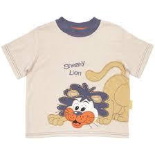 Hooligans Sneaky Lion T Shirt - RedHill Childrenswear