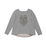 Tahlia Woodstock Owl Burnout Top
