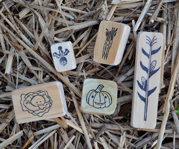 Garden Stamps Set- Fall Edition