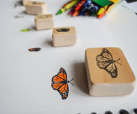 Monarch Butterfly Life Cycle Stamp Set- Laser Carved