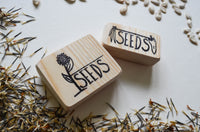 Veggie & Flower Seed Stamp