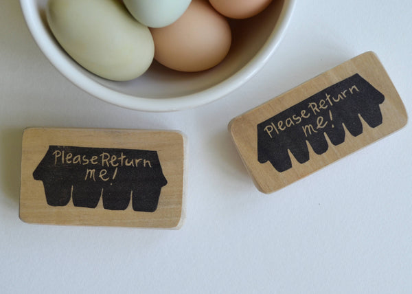 Egg Carton Stamp
