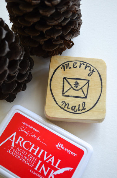 Merry Mail Stamp