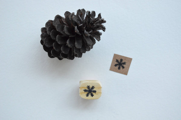 Tiny Snowflake Stamp