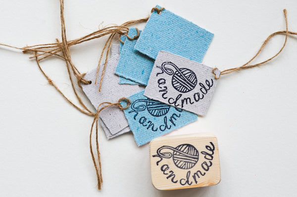 Handmade Yarn Ball Stamp