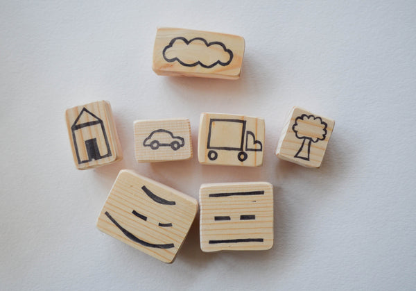 City Building Stamp Pack