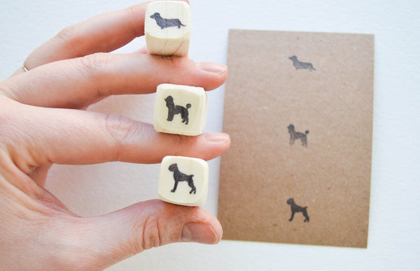 Tiny Dog Stamp
