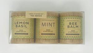 Kraft Seed Starter Kit - Tea Series