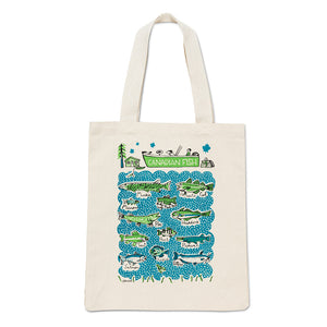 Canadian Tote Bag