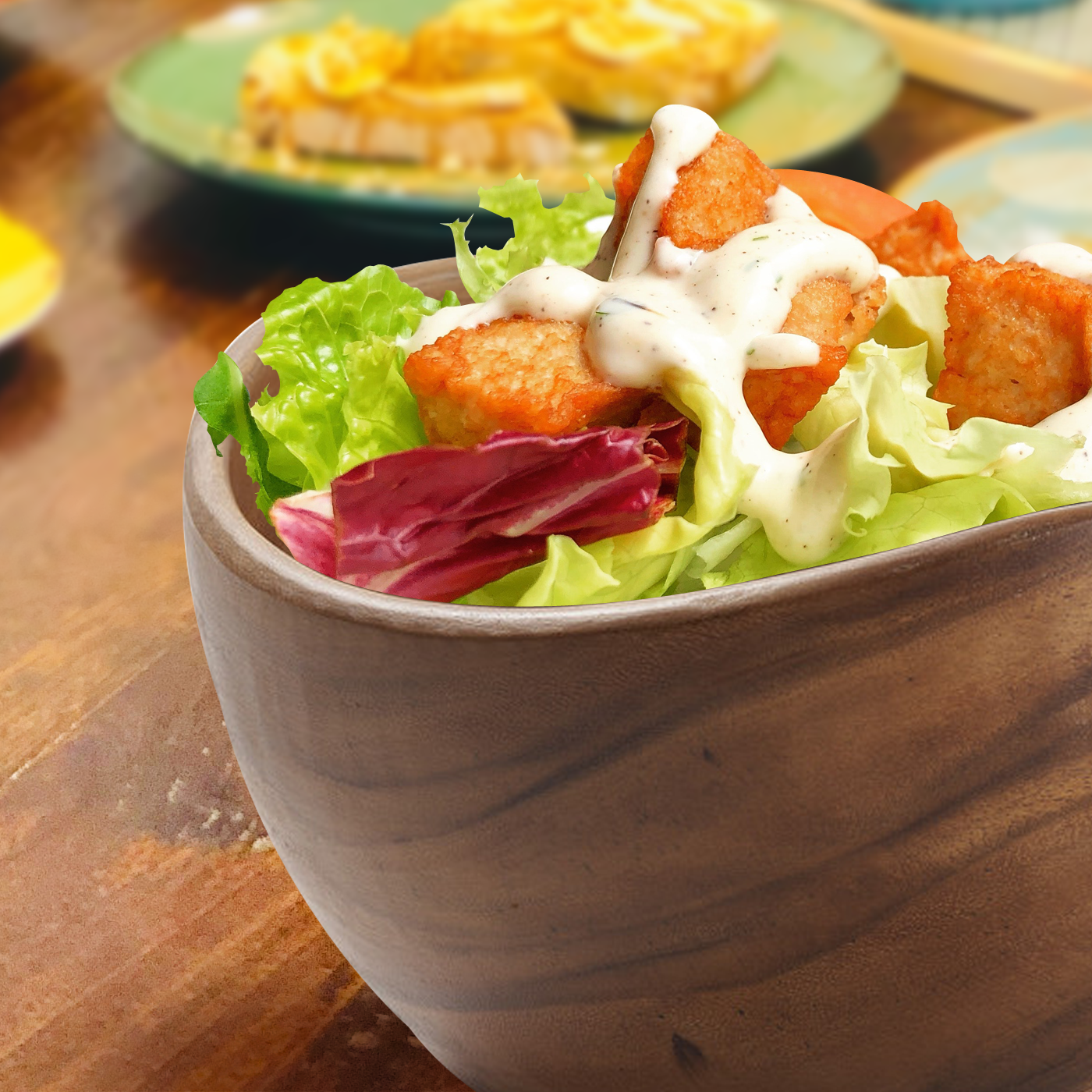 Salad Daze Serving Bowl