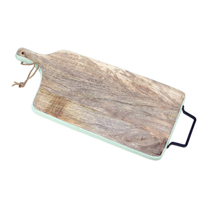 Turquoise Band Mangowood Cutting Board