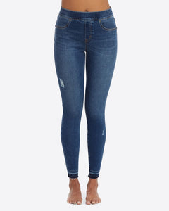 Spanx Distressed Skinny Jean Legging
