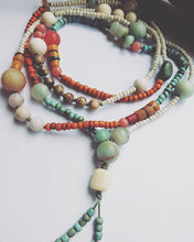 Load image into Gallery viewer, Desert Dunes Beaded Necklace