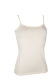 Womens Bamboo Cami Singlet - Natural