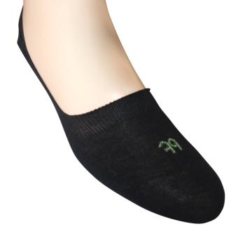 Invisisock Half Foot -  Black