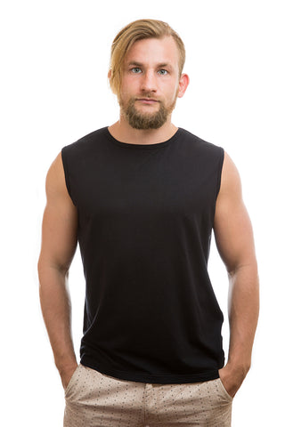 Mens Bamboo Sleeveless T-Shirt