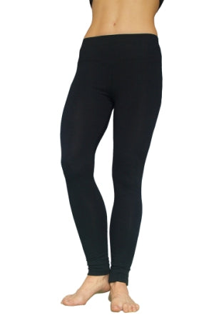 Full Length Bamboo Leggings - Navy