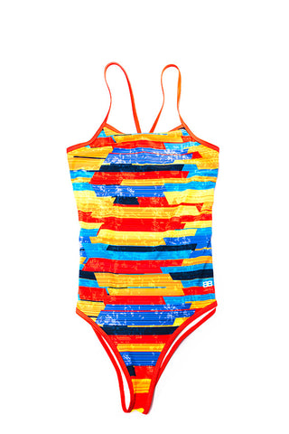 Bamboo Holiday One Piece - Tiled