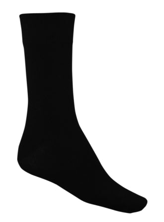 Bamboo Dress Socks - Black