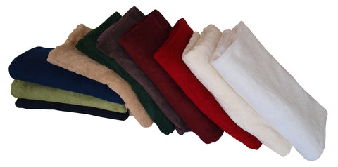 Coloured Bamboo Towels 600GSM