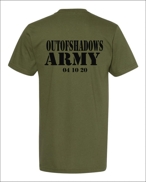 Men's Army Shirt -NL6010 - OUT OF SHADOWS