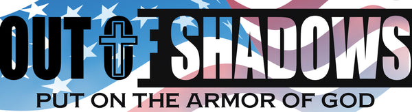 OUT OF SHADOWS Bumper Sticker - OUT OF SHADOWS