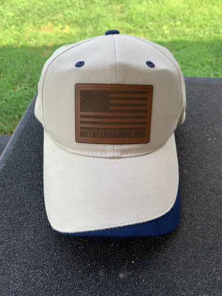 Tan Hat w/ Leather Patch - OUT OF SHADOWS