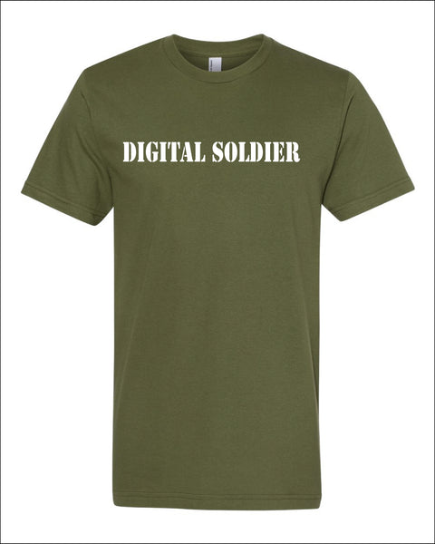 Men's Digital Soldier Shirt -NL6010 - OUT OF SHADOWS