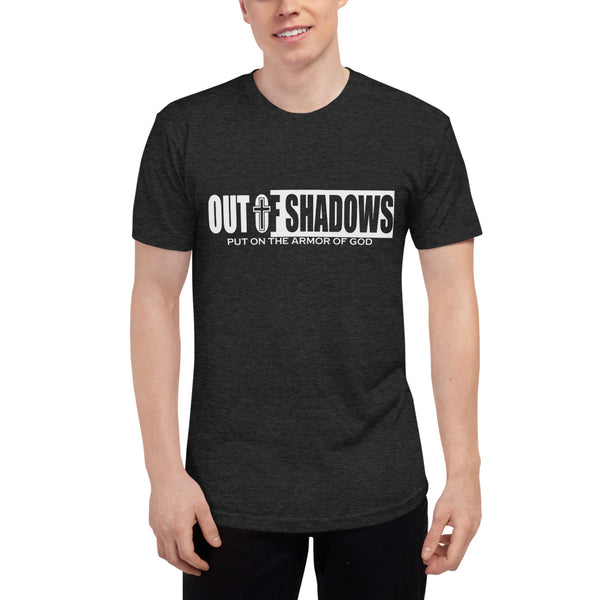 Out of Shadows Tri-Blend Shirts - TR401 - OUT OF SHADOWS