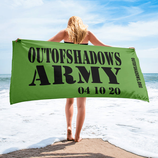 Army Towel - OUT OF SHADOWS