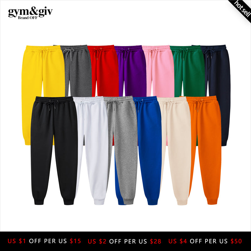 2019 New Men Joggers Brand Male Trousers Casual Pants Sweatpants Jogger 13 color Casual Fitness Workout sweatpants