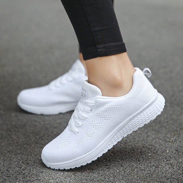 Shoes Woman Sneakers White Platform Trainers Women Shoe Casual Tenis Feminino Zapatos de Mujer Zapatillas Womens Sneaker Basket