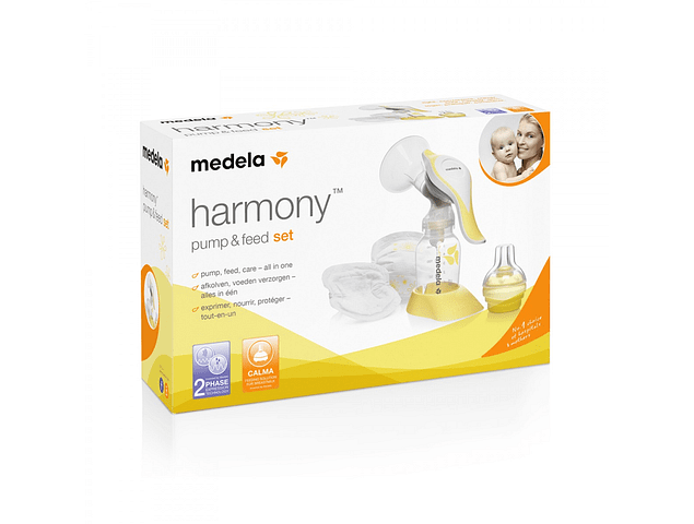 Extractor de Leche Manual Harmony Pump&Feed Set Medela