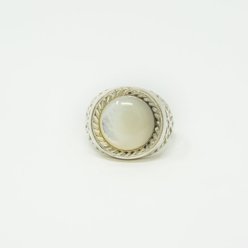 Sovereign Pearl | sterling silver