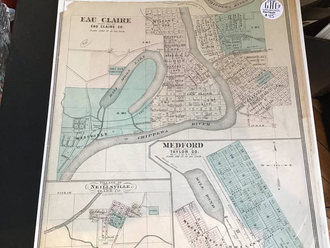 Map Eau Claire County