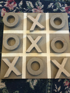 XOXO Tic Tac Toe Board