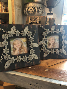 Black and gray picture frame