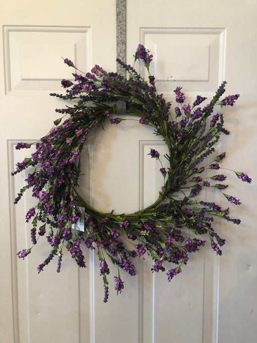 24 inch Purple Hops Wreath