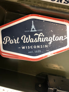 Large Port Sticker