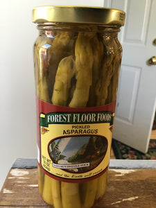 Forest Floor Pickled Asparagus