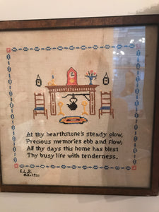 Framed Needle Point