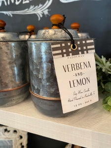 Farmhouse Tin Candles